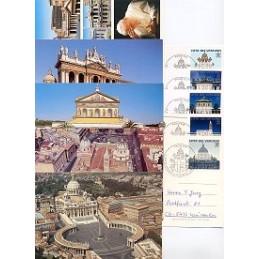 VATICANO (2000). Año Santo. Tarjetas primer día