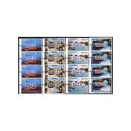 MALTA (2002). Turismo - 09. Series 4 val.