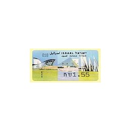ISRAEL (2008). Ashdod - 018 - negro. ATM nuevo