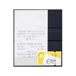 ESPAÑA. 13.1. ESPAMER 1996 - 3 dígitos. ATM nuevo (19) + rec.