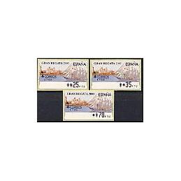 ESPAÑA. 42. Gran Regata 2000. PTS-4CB. Serie 3 val.