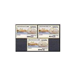 ESPAÑA. 42. Gran Regata 2000. PTS-5A. Serie 3 val.