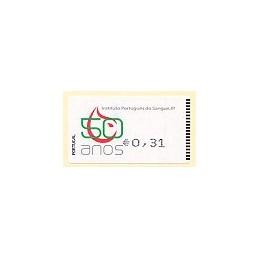 PORTUGAL (2008). I.P. Sangre - Amiel n. ATM nuevo (0,31)