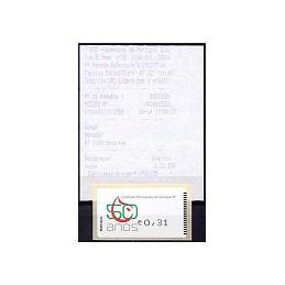 PORTUGAL (2008). I.P. Sangre - Amiel n. ATM nuevo + rec. (1)