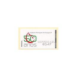 PORTUGAL (2008). I.P. Sangre. Epost n.-CA. ATM nuevo