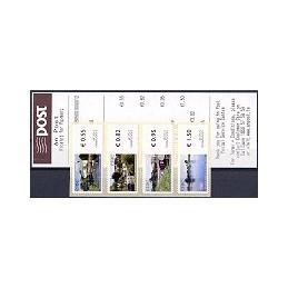 IRLANDA (2008). Canales (2) - 9805001. Serie 4 val. + rec.