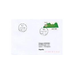 ANDORRA (2008). Montañas verdes- 5. LF-5E. Sobre a España (2008)