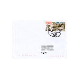 ISRAEL (2009). Buitre leonado - 001. Sobre P.D. a España