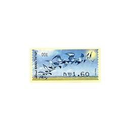 ISRAEL (2009). Aves rapiña - 001. ATM nuevo