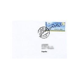 ISRAEL (2009). Aves rapiña - 001. Sobre primer día - España