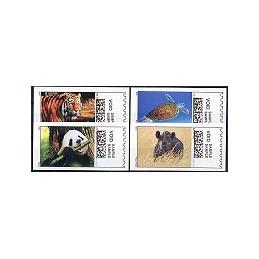 EEUU (2008). 17. Especies amenazadas. Etiquetas test