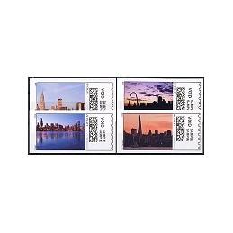 EEUU (2008). 21. Grandes ciudades. Etiquetas test