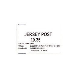 JERSEY (2009). Básica (1.1) - Main P.O. Sello nuevo