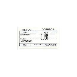 MÉXICO (2009). Emisión SIO (1.2) - 45042. Sello nuevo