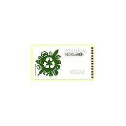 PORTUGAL (2009). Reciclaje - NewVision negro. ATM (0,32)