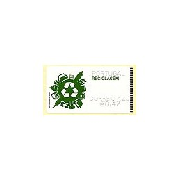 PORTUGAL (2009). Reciclaje. NewVision negro - CA. ATM