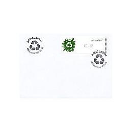 PORTUGAL (2009). Reciclaje - Crouzet negro. Sobre P. D. (Lisboa)