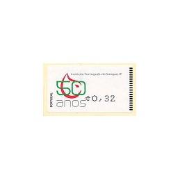 PORTUGAL (2009). I.P. Sangre - Amiel n. ATM nuevo (0,32)