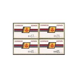 ESPAÑA. 4.1.2. Emblema postal - ALBENIZ. PTS-CB4. Serie 4 v. (2b