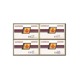 ESPAÑA. 4.1.2. Emblema postal - ALBENIZ. PTS-CB4. Serie 4 v. (1b