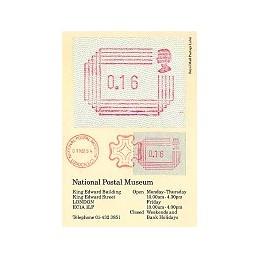 R. UNIDO (1984). Emisión Frama. Tarjeta Primer Día (1)