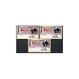 ESPAÑA. 37. España 2000. PTS-4CB. Serie 3 val.