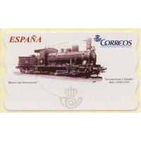 104. Locomotora y Tender. Año: 1900-1901. Museo del Ferrocarril