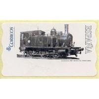 117. Locomotora (locomotive) 1887. Museo del Ferrocarril