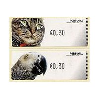 Animais domésticos (Pets) - Crouzet BLACK - Cat & Grey parrot