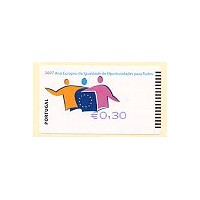 2007 European Year of Equal Opportunities for All - SMD BLUE