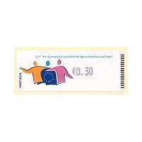 2007 European Year of Equal Opportunities for All - CROUZET BLUE