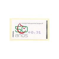 2008. 50 Anos Instituto Português do Sangue, IP - Amiel AZUL