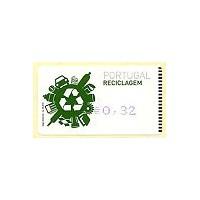 2009. Reciclagem (Recycling) - Amiel BLUE