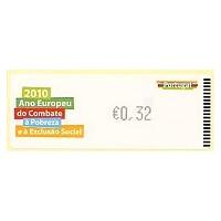 2010. Ano Europeu Combate Pobreza Exclusao Social- Crouzet NEGRO