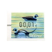 2013. Wooden duck decoys (2). Long-tailed duck
