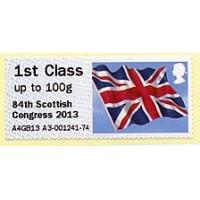 2013. Hytech - Special imprint '84th Scottish Congress 2013'