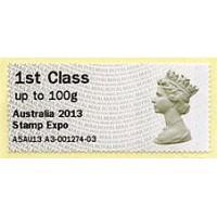 2013. Hytech - Special imprint 'Australia 2013 Stamp Expo'