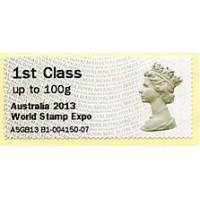 2013. Hytech - Impresión esp. 'Australia 2013 World Stamp Expo'