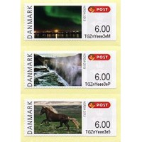 2013. NORDIA 2013 - Iceland (Northern lights, waterfall, horse)