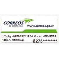 2013. Correos de Costa Rica logo (2)