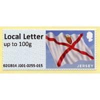 2014-2020. Post&Go - Bandera de Jersey