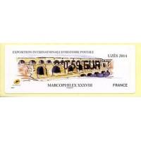 2014. MARCOPHILEX XXXVIII Uzès 2014 - Le Pont du Gard