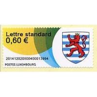 2014. Escudo de armas del Gran Ducado de Luxemburgo