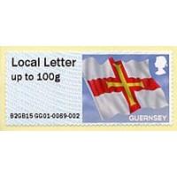 2015-... Post & Go - Guernsey flag