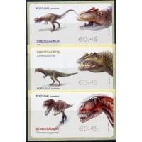 2015. Dinosaurios (Allosaurus, Ceratosaurus, Torvosaurus)