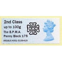 2015. Intelligent AR - Imprint 'The B.P.M.A. Penny Black 175'