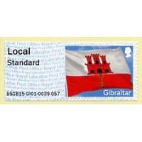 2015 - 2016. Post & Go - Flag of Gibraltar
