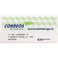 2012. Correos de Costa Rica logo (3)