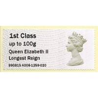 2015. IAR - Imprint 'Queen Elizabeth II Longest Reign'