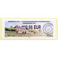 2015.  6. MARCOPHILEX XXXIX - Auvers-sur-Oise
